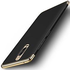 Schutzhülle Luxus Metall Rahmen und Kunststoff Schutzhülle Tasche M01 für Huawei Mate 9 Pro Schwarz