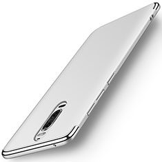 Schutzhülle Luxus Metall Rahmen und Kunststoff Schutzhülle Tasche M01 für Huawei Mate 9 Pro Silber