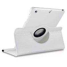 Schutzhülle Rotierende Tasche Leder für Apple iPad Mini 3 Weiß