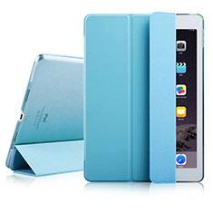 Schutzhülle Stand Tasche Leder für Apple iPad Air 2 Hellblau