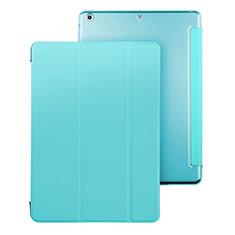 Schutzhülle Stand Tasche Leder für Apple iPad Air Hellblau