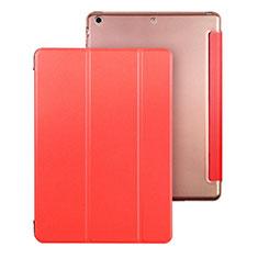 Schutzhülle Stand Tasche Leder für Apple iPad Air Rot