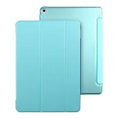 Schutzhülle Stand Tasche Leder für Apple iPad Mini 4 Hellblau