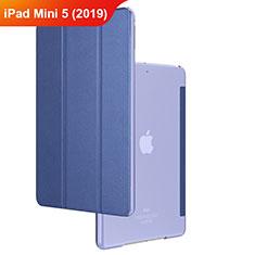 Schutzhülle Stand Tasche Leder für Apple iPad Mini 5 (2019) Blau