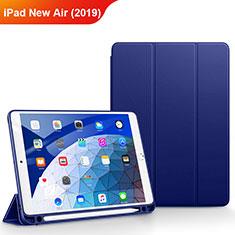 Schutzhülle Stand Tasche Leder für Apple iPad New Air (2019) 10.5 Blau