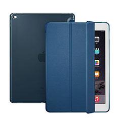 Schutzhülle Stand Tasche Leder für Apple iPad Pro 12.9 Blau