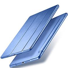 Schutzhülle Stand Tasche Leder für Apple New iPad 9.7 (2017) Blau