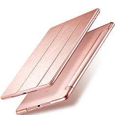 Schutzhülle Stand Tasche Leder für Apple New iPad 9.7 (2018) Rosegold