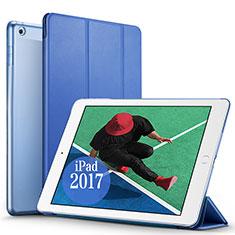 Schutzhülle Stand Tasche Leder für Apple New iPad Pro 9.7 (2017) Blau