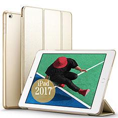 Schutzhülle Stand Tasche Leder für Apple New iPad Pro 9.7 (2017) Gold