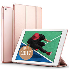 Schutzhülle Stand Tasche Leder für Apple New iPad Pro 9.7 (2017) Rosegold