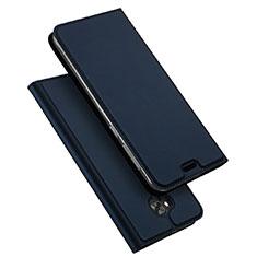 Schutzhülle Stand Tasche Leder für Asus Zenfone 4 Selfie ZD553KL Blau