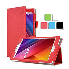 Schutzhülle Stand Tasche Leder für Asus ZenPad C 7.0 Z170CG Rot