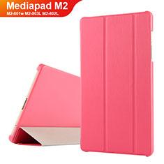 Schutzhülle Stand Tasche Leder für Huawei Mediapad M2 8 M2-801w M2-803L M2-802L Rot