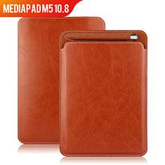 Schutzhülle Stand Tasche Leder für Huawei MediaPad M5 10.8 Braun