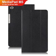 Schutzhülle Stand Tasche Leder für Huawei MediaPad M5 8.4 SHT-AL09 SHT-W09 Schwarz