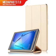 Schutzhülle Stand Tasche Leder für Huawei MediaPad T3 7.0 BG2-W09 BG2-WXX Gold