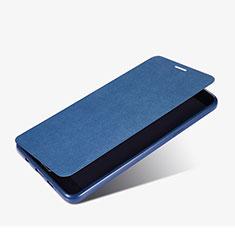 Schutzhülle Stand Tasche Leder für Samsung Galaxy A9 Pro (2016) SM-A9100 Blau