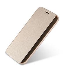 Schutzhülle Stand Tasche Leder für Samsung Galaxy S6 Edge SM-G925 Gold