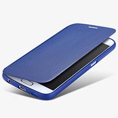 Schutzhülle Stand Tasche Leder für Samsung Galaxy S6 SM-G920 Blau