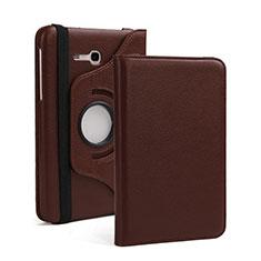 Schutzhülle Stand Tasche Leder für Samsung Galaxy Tab 3 Lite 7.0 T110 T113 Braun