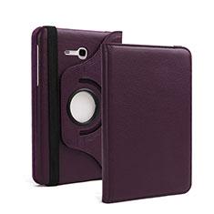 Schutzhülle Stand Tasche Leder für Samsung Galaxy Tab 3 Lite 7.0 T110 T113 Violett