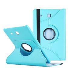 Schutzhülle Stand Tasche Leder für Samsung Galaxy Tab E 9.6 T560 T561 Blau
