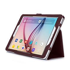Schutzhülle Stand Tasche Leder für Samsung Galaxy Tab S2 9.7 SM-T810 SM-T815 Braun