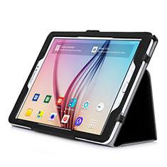 Schutzhülle Stand Tasche Leder für Samsung Galaxy Tab S2 9.7 SM-T810 SM-T815 Schwarz