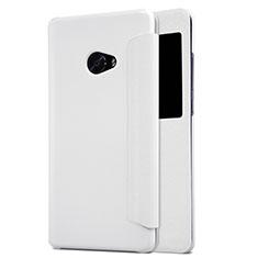 Schutzhülle Stand Tasche Leder für Xiaomi Mi Note 2 Special Edition Weiß