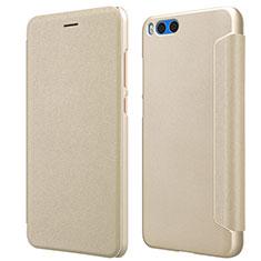 Schutzhülle Stand Tasche Leder für Xiaomi Mi Note 3 Gold