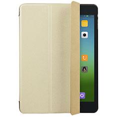 Schutzhülle Stand Tasche Leder für Xiaomi Mi Pad 2 Gold