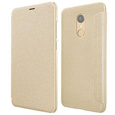 Schutzhülle Stand Tasche Leder für Xiaomi Redmi 5 Gold
