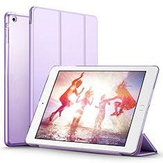 Schutzhülle Stand Tasche Leder L01 für Apple iPad Air Violett
