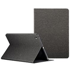 Schutzhülle Stand Tasche Leder L01 für Apple iPad Mini 3 Schwarz
