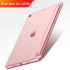 Schutzhülle Stand Tasche Leder L01 für Apple iPad New Air (2019) 10.5 Rosegold