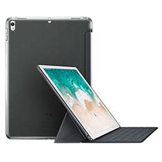 Schutzhülle Stand Tasche Leder L01 für Apple iPad Pro 10.5 Grau