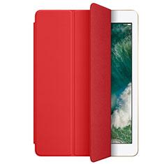 Schutzhülle Stand Tasche Leder L01 für Apple New iPad 9.7 (2017) Rot