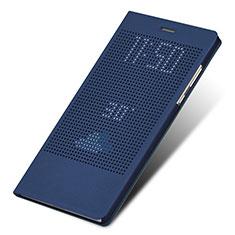 Schutzhülle Stand Tasche Leder L01 für Huawei Honor Note 8 Blau