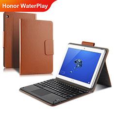 Schutzhülle Stand Tasche Leder L01 für Huawei Honor WaterPlay 10.1 HDN-W09 Gold