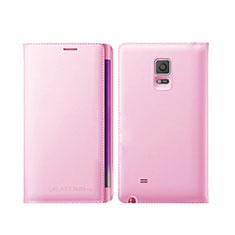 Schutzhülle Stand Tasche Leder L01 für Samsung Galaxy Note Edge SM-N915F Rosa