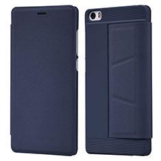 Schutzhülle Stand Tasche Leder L01 für Xiaomi Mi Note Blau