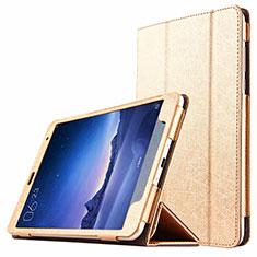 Schutzhülle Stand Tasche Leder L01 für Xiaomi Mi Pad 3 Gold