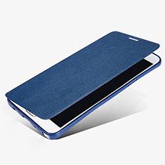 Schutzhülle Stand Tasche Leder L02 für Samsung Galaxy Note 5 N9200 N920 N920F Blau