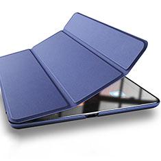 Schutzhülle Stand Tasche Leder L03 für Xiaomi Mi Pad 3 Blau