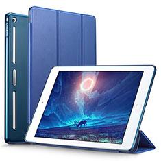 Schutzhülle Stand Tasche Leder L05 für Apple iPad Mini 3 Blau