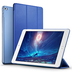 Schutzhülle Stand Tasche Leder L05 für Apple iPad Mini 4 Blau