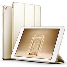 Schutzhülle Stand Tasche Leder L05 für Apple iPad Mini 4 Gold