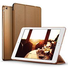 Schutzhülle Stand Tasche Leder L06 für Apple iPad Mini 2 Braun