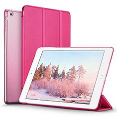 Schutzhülle Stand Tasche Leder L06 für Apple iPad Mini 2 Pink
